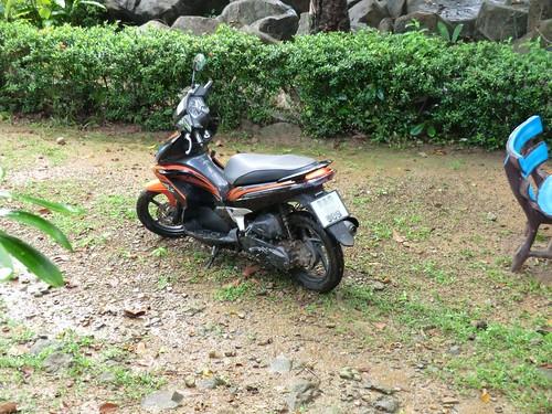 Motor bike in Ko Chang