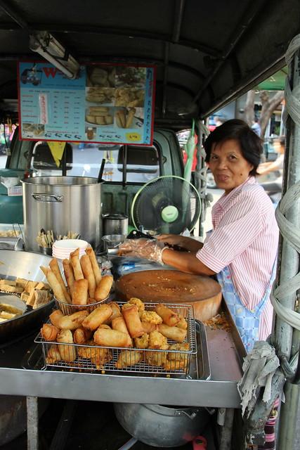 Deep fried Bangkok snacks