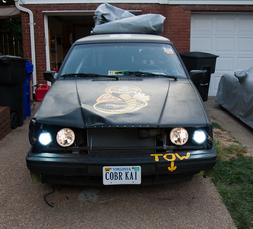 Cobra Kai Race Wagon with lights