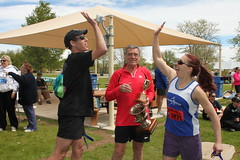 Victory High Five at Federal Cup 5K