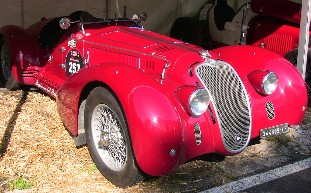 Solitude-Revival, Oldtimer-Treff 2011, Alfa Romeo