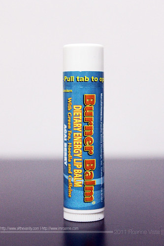 Burner Balm - Dietary Energy Lip balm