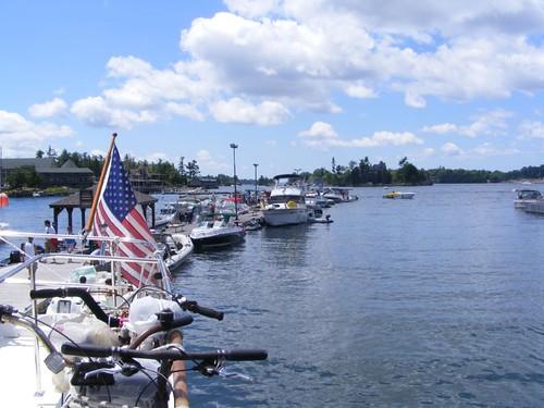 Alexandria Bay public dock