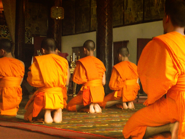 Monks Chanting, Wat Bupparam