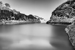 Sidari Canal d'Amour (Frank van Es http://www.frankvanes.eu) Tags: longexposure rocks greece le corfu sidari rotsen griekenland korfoe canaldamour langesluitertijd nd110 frankvanes