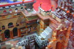 AFOL Castle Display Case - LEGO Booth at Comic Con - 18