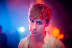 Stephen (TGKW) Tags: boy portrait people man night disco death lights colours glasgow arches stephen nightclub dancefloor nightlife 7676