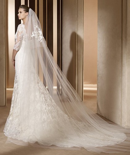 elie saab - auriga (back) - wedding collection 2011