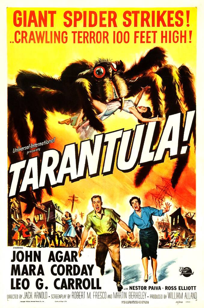 Reynold Brown - Tarantula (Universal International, 1955).