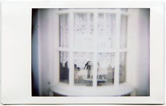(melissafreemantle) Tags: houses summer film window river polaroid seaside pretty ship lace lilac instant dianaf quaint idyllic instax instaxmini instantback