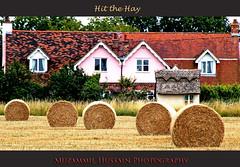 Hit the Hay (Muzammil (Moz)) Tags: haystack haybale harwich moz muzammilhussain