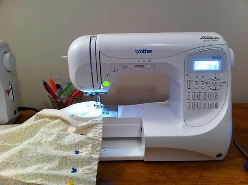 My new machine by Sew Spoiled