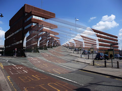 Bishop Street Sorting Office_Coventry_Jul11 (Ian Halsey) Tags: distortion geotagged postoffice royalmail coventry sortingoffice cv1 bishopstreet towerstreet flickriver postofficeclosures ianhalsey flickr:user=ianhalsey copyright:owner=ianhalsey exif:model=panasoniclumixdmctz4 geotagsorg location:Coventry=bishopstreet