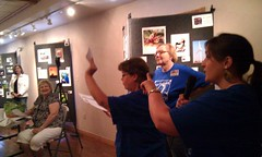 Kicking off Picture My Weekend photo workshop in Alva with group instructions. #PMW2011