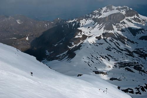 Crazy skiers!