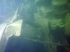 Powmill Quarry: (gordon.milligan) Tags: uk water scotland junk underwater fife scuba diving bsac quarry dsac powmill
