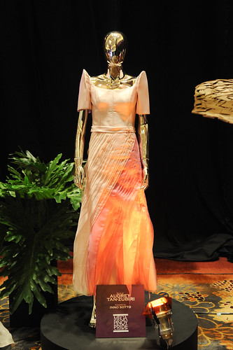 Terno of Audrey Tan Zubiri designed by Ino Sotto
