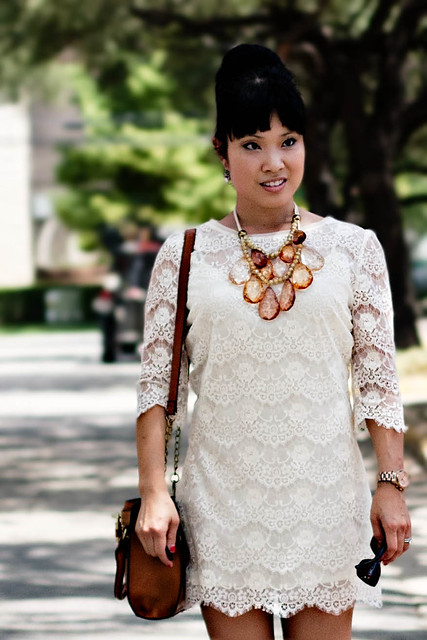 forever 21 chantilly lace dress amrita singh teteo necklace boutique 9 keeva cognac caged sandals mk5430 melie bianco madison