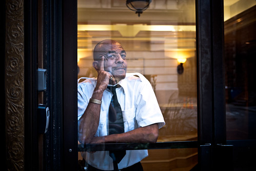 What's in a doorman's mind?