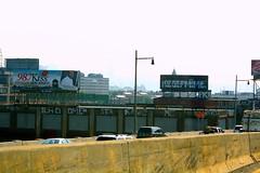 kiss98 (boenfiftyone) Tags: new york city ny buildings graffiti kid high highway tag nj billboard spots jersey roller 51 graff pk kaws mime omen perks kegef boen kege ilad