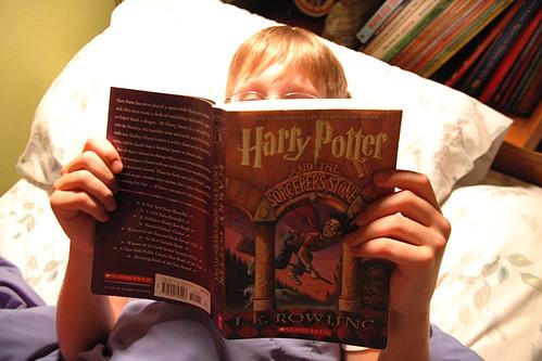 day 2581: The Harry Potter Adventures Begin.