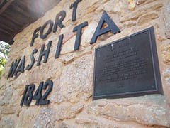 Fort Washita National Register of Historic Places (fables98) Tags: oklahoma fort entrance historic fortwashita oldfort historicfort bryancounty washitariver oklahomahistoricalmarker