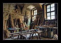 La bottega di Geppetto (celestino2011) Tags: falegname hdr interni legno finestre pinerolo utensili cacciaviti virgiliocompany stunningphotogpin