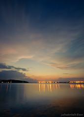 _JDS0551 (Jon Schusteritsch) Tags: longexposure summer storm water night clouds dark bay harbor suffolk movement lowlight nikon rocks dusk mountsinai july wideangle longisland northshore aftersunset nikkor1735mmf28 d700 mountsinaiharbor