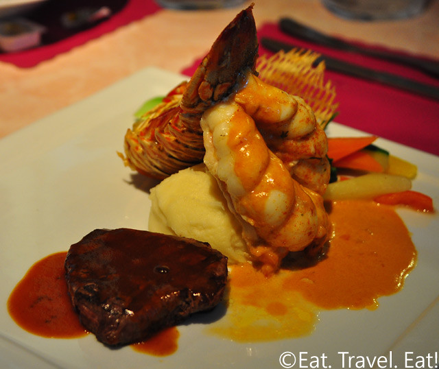 Surf and Turf Combo: Lobster with 8 oz. Filet Mingon