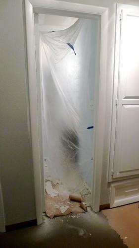 Doorway After Scraping