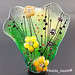 Focal : -Golden Green- Flower Blossom Yellow