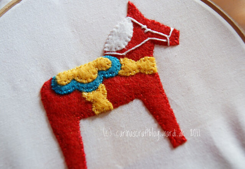 Dala Horse Craftalong week 1