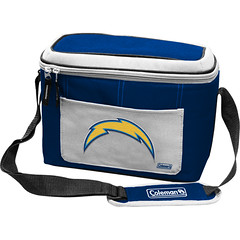 San Diego Chargers Coleman 12 Pack/Can Cooler Bag