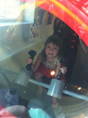Driving a submarine