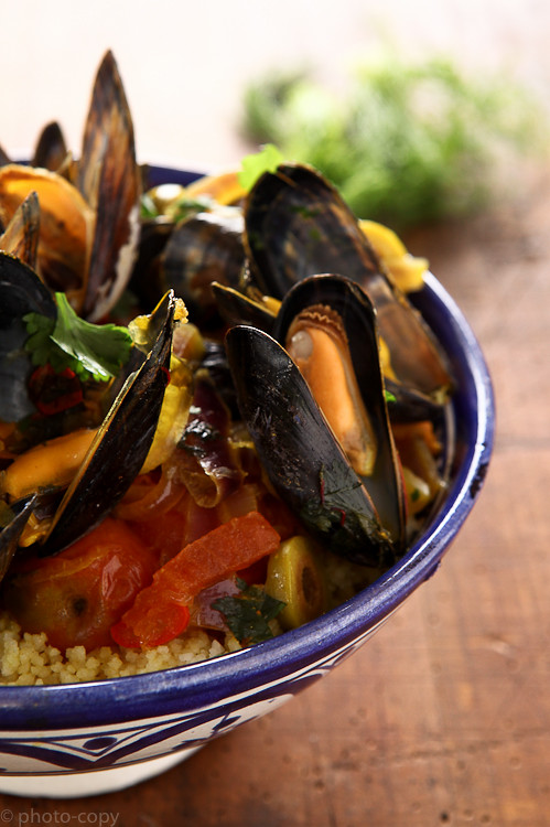 tajine with mussels