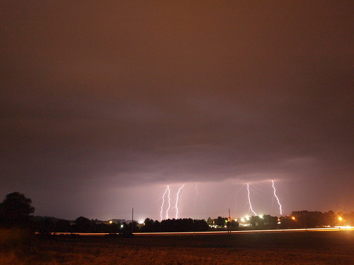8/3/11 Lightning in Northeast Huntsville