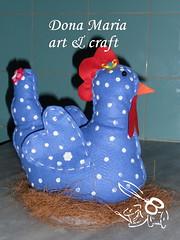 Galinha Peso de Porta (Dona Maria art & craft) Tags: feitomo feltro galinhas pesodeporta paracozinha