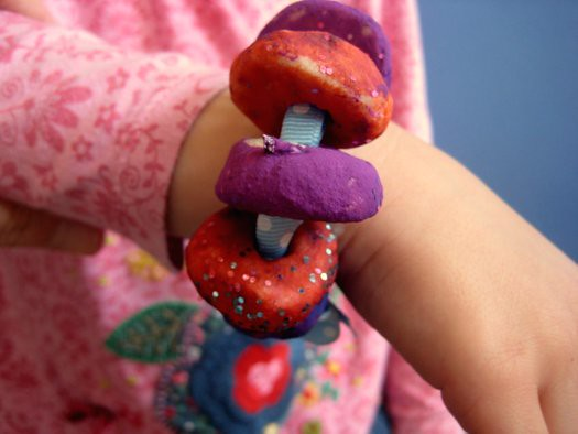 salt dough recipe bead bracelet