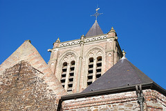 Cassel : église (bpmm) Tags: cassel clocher glise