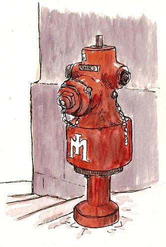 hydrant rua serpa pinto
