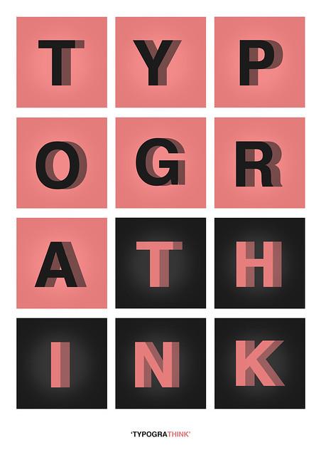 TYPOGRATHINK