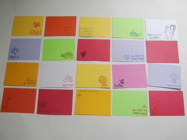 Bitty Lunchbox Notes!<br>Set of 20