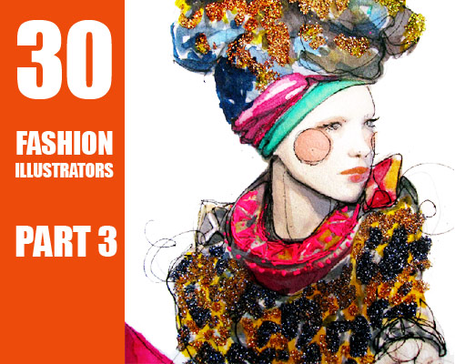 6013855833 603ed5a8e0 30 Fashion Illustrators You Can't Miss Part 3