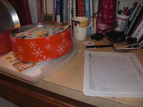 My writing desk