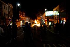 Tottenham Riots - 6th August 2011 by suburbanslice