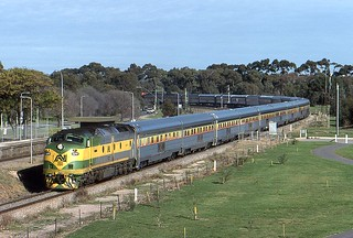 The Ghan at North Adelaide