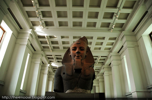 British Museum - Bust of Ramesses II