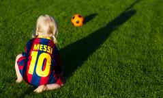 En ung Messi