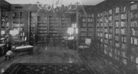 Historical images of the Jack H and Tybee Davis Satin Rare Book Room