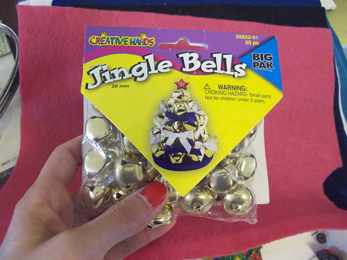 Got some jingle bells, too.